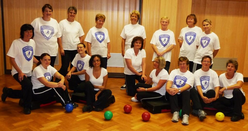 Damengymnastik 09/2009